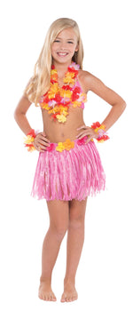 Child Hula Skirt Kit - Warm