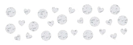 I Do & Ring Value Confetti- White