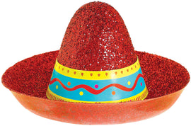 Cinco Sombrero Mini Glitter Hat