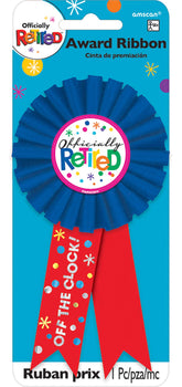 Officially Retired Award Ribbon