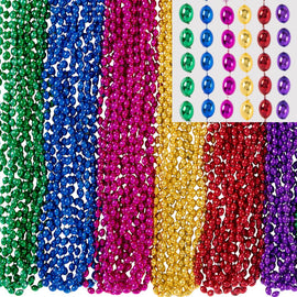 Bead Necklace - Rainbow, 100 ct.