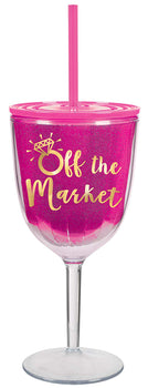 """Off the Market"" Wine Sippy Cup"
