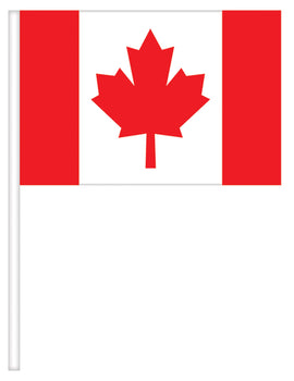 Canada Day Flags, 4 ct.