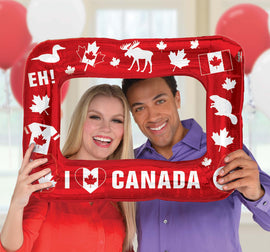 Canada Day Inflatable Frame