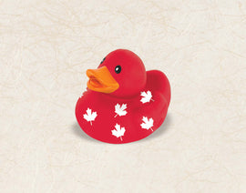 Canada Day Rubber Duck