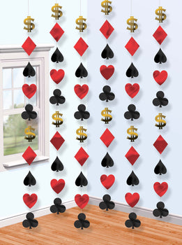 Casino Party String Decoration