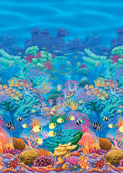 Coral Reef Scene Setter Room Roll