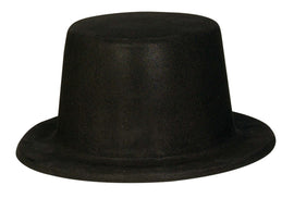 Black Felt Hollywood Top Hat