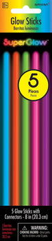 "8"" Multi Color Glow Sticks, 5ct."