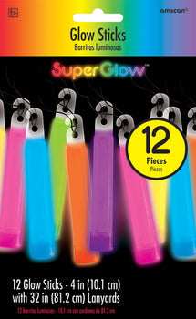 "4"" Glow Stick Value Pack - Multi Color"