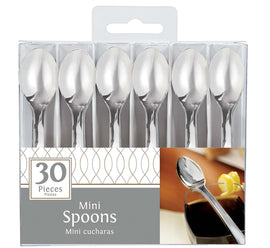 Mini Spoons Hi-Ct. - Silver