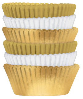Cupcake Cases, Value Pack - Gold