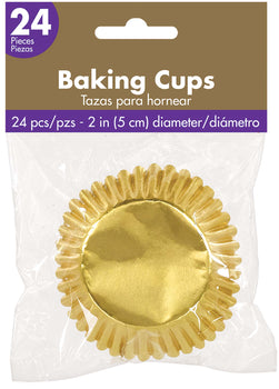 Cupcake Cases - Gold