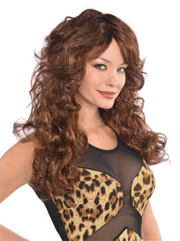 Brown Fabulous Wig