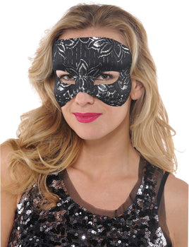 Mask - Black Lace