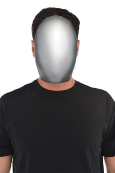 Faceless Silver Mask