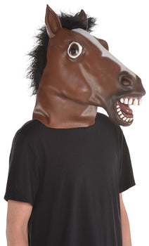 Horse Head - Full Head Mask