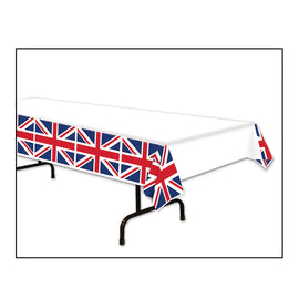 Union Jack Tablecover plastic