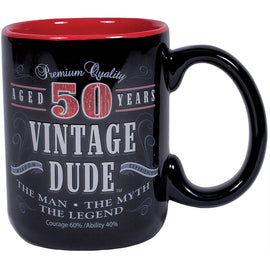 Vintage Dude 50Th Birthday Coffee Mug