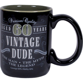 Vintage Dude 60Th Birthday Coffee Mug