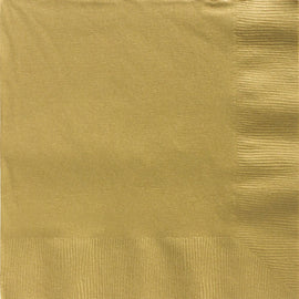 Gold Big Party Pack 2-Ply Dinner Napkins