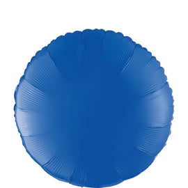 "Foil Balloon - 18"" Round Blue"