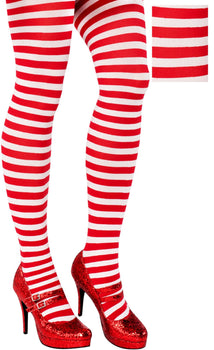 Candy Stripe Tights - Women