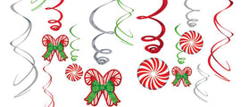 Candy Cane Value Pack Foil Swirl