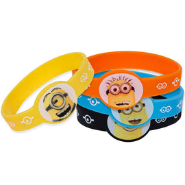 Despicable Me Stretchy Bracelets, 4ct
