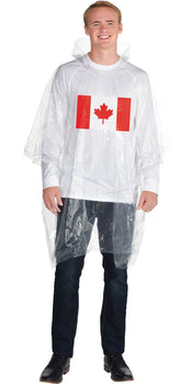 Canada Day Poncho - Adult Standard