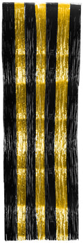 Curtain - 3' X 8' Gold/Black