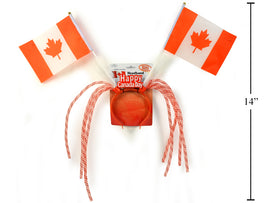 """Happy Canada Day"" Flag Head"