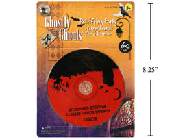G.Ghouls 60 Min Horror Sounds CD