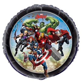 "Avengers Round Foil Balloon 18"", Packaged"
