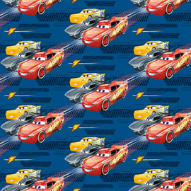 "Disney Cars 3 Movie Gift Wrap, 30"" x 5 ft"
