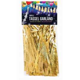 Balloon Tassel - Sm Gold