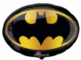 Super Shape Foil Balloon Batman Emblem