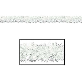 6-Ply Metallic Festooning Garland white