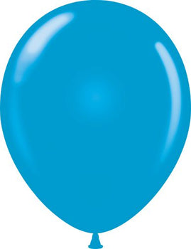 "11"" Tuftex Balloons (12 per package) Blue"