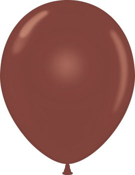 "11"" Tuftex Balloons (12 per package) Brown"