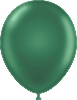 "11"" Tuftex Balloons (12 per package) Forest Green"