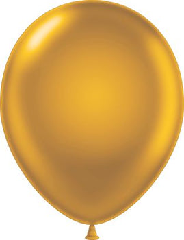 "11"" Tuftex Balloons (12 per package) Gold"