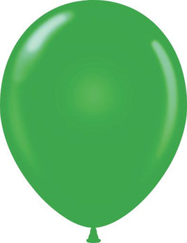 "11"" Tuftex Balloons (12 per package) Green"
