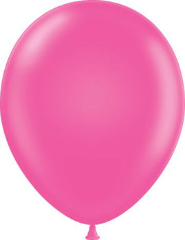"11"" Tuftex Balloons (12 per package) Hot Pink"