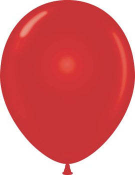 "11"" Balloon (12 per package) Starfire Red"