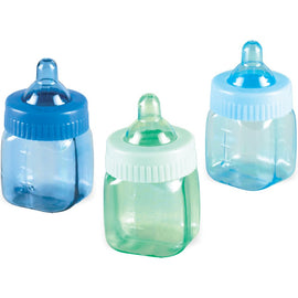 Baby Bottle Favor Blue-Multi
