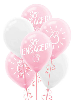Blush Wedding Latex Balloons