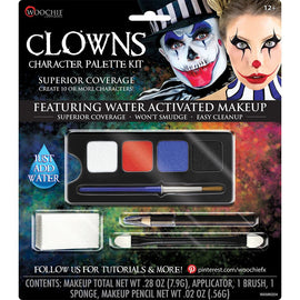 Make Up Kit - Wch Complete Clown