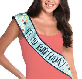 A Reason to Celebrate Light Up Birthday Sash