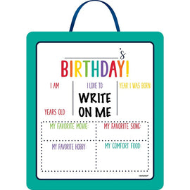 Birthday Accessories Rainbow Sign